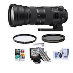 Sigma 150-600mm F5-6.3 DG OS HSM Sport Lens for Ni