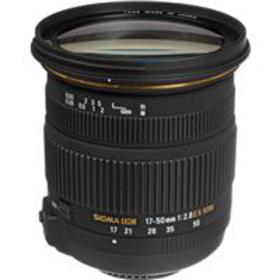 Sigma 17mm-50mm f/2.8 EX DC OS HSM Lens for Nikon