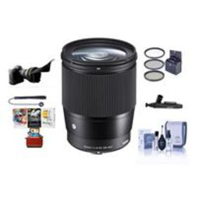 Sigma 16mm f/1.4 DC DN Cont. Lens for Sony E-mount