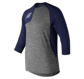 New balance Mens' Asym 2.0 Right 3/4 Sleeve