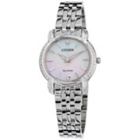 CITIZEN Citizen Eco-Drive Womens Diamond Mother of