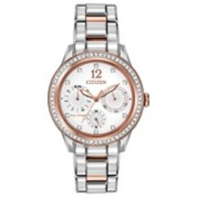 CITIZEN Citizen Eco-Drive Womens Crystal Chronogra