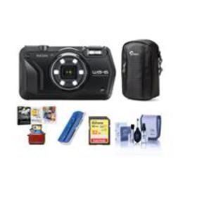 Ricoh WG-6 Digital Camera, Black - With Free Mac A