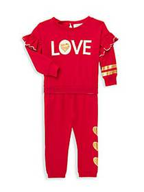 Jessica Simpson Baby Girl's 2-Piece Love Stretch-C