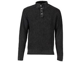 Bob Timberlake 4-Button Long-Sleeve Sweater for Me