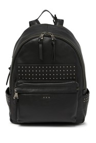 John Varvatos Collection Studded Leather Backpack