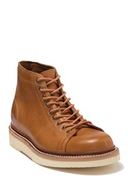 Frye Bryant Leather Lace-Up Boot