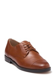 Ralph Lauren Maryna Cap Toe Leather Derby