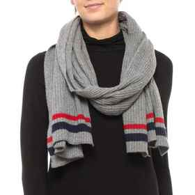 HatAttack Varsity Ribbed Scarf (For Women) in Heat