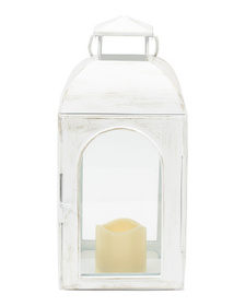 HANDCRAFTED IN INDIA Led Lantern