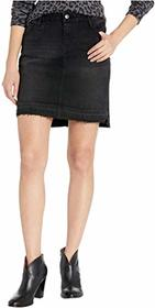 Stetson Black Stretch Denim Skirt