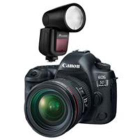 Canon EOS 5D Mark IV with EF 24-70mm Lens and Flas