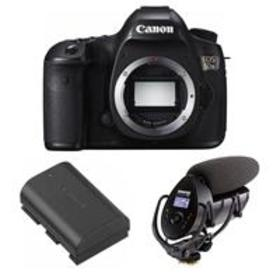 Canon EOS 5DS DSLR Camera Body With Shure VP83F Sh