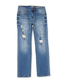 7 For All Mankind - Boys' Distressed Standard Stra
