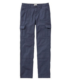 LL Bean Women's Stretch Canvas Cargo Pants, Lined
