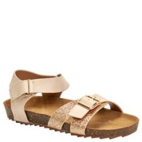 Toddler Girl Patent Glitter Buckle Sandals