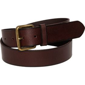 Frye Flat Panel Belt - 35mm, Leather (For Men) in