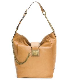 Frye Ella Chain Vintage Leather Hobo Bag