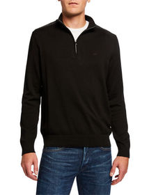 Michael Kors Men's Cotton Zip Pullover