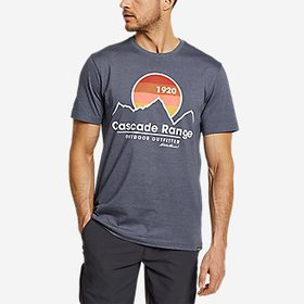 Men's Graphic T-Shirt - Cascade Range