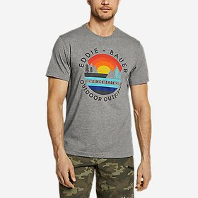 Men's Graphic T-Shirt - Horizon Sunset