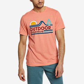 Men's Graphic T-Shirt - Twin Ridge Adventure