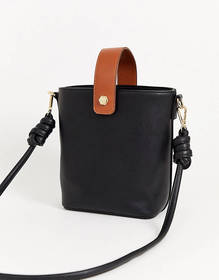 Truffle Collection structured cross body bag