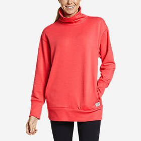 Women's Cozy Camp Funnel-Neck Tunic