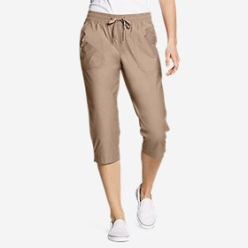 Women's Exploration Utility Crop Pants