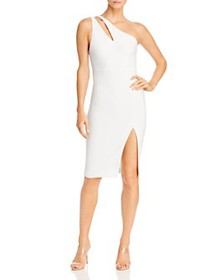 LIKELY - Lisette One-Shoulder Cutout Dress