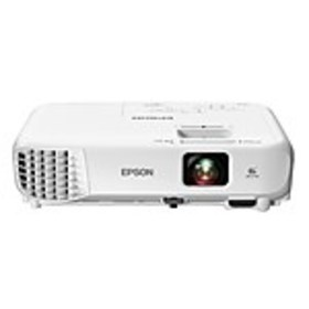 Epson Home Cinema 760HD LCD 720p Projector, White