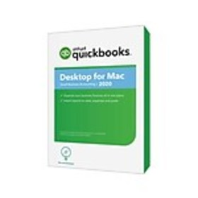 Intuit QuickBooks Desktop for Mac 2020 for 1 User,