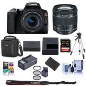 Canon EOS Rebel SL3 DSLR Camera with EF-S 18-55mm