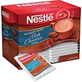 Nestle® Instant Cocoa, No sugar added, 30/Box (NES