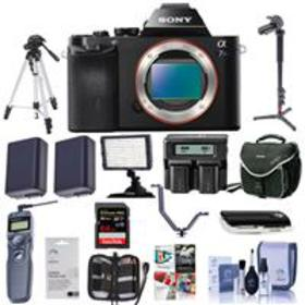 Sony Alpha a7SII Mirrorless Body with Pro Kit