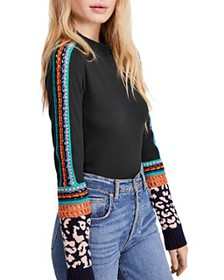 Free People - Switch It Up Crochet-Trim Thermal To