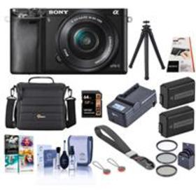 Sony Alpha A6000 Mirrorless with 16-50mm OSS Lens