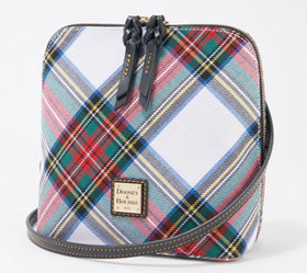 """As Is"" Dooney & Bourke Blakely Tartan Trixie Cros"