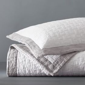 Chambers® Washed Linen Border Quilt & Shams