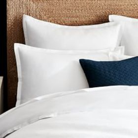 Chambers® Italian 300TC Sateen Duvet Cover & Shams