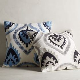 Espen Embroidered Applique Pillow Cover