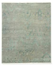 Deep Sea Ikat Hand Knotted Rug