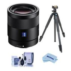 Sony Sonnar T* FE 55mm F1.8 ZA E-Mount Lens With S