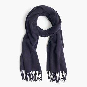 J. Crew Solid cashmere scarf