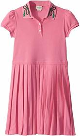 Gucci Kids GG Piquet Short Sleeve Dress (Little Ki