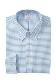 Brooks Brothers Check Regent Fitted Fit Dress Shir