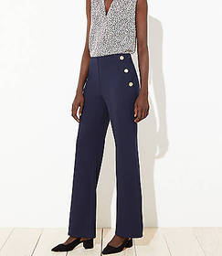 Petite Sailor High Waist Wide Leg Pants