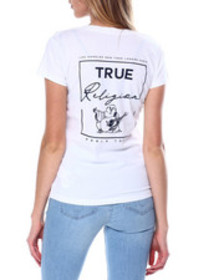 True Religion buddha v neck tee