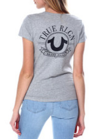 True Religion big hs v neck tee