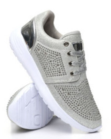 Fashion Lab studded lace-up sneakers